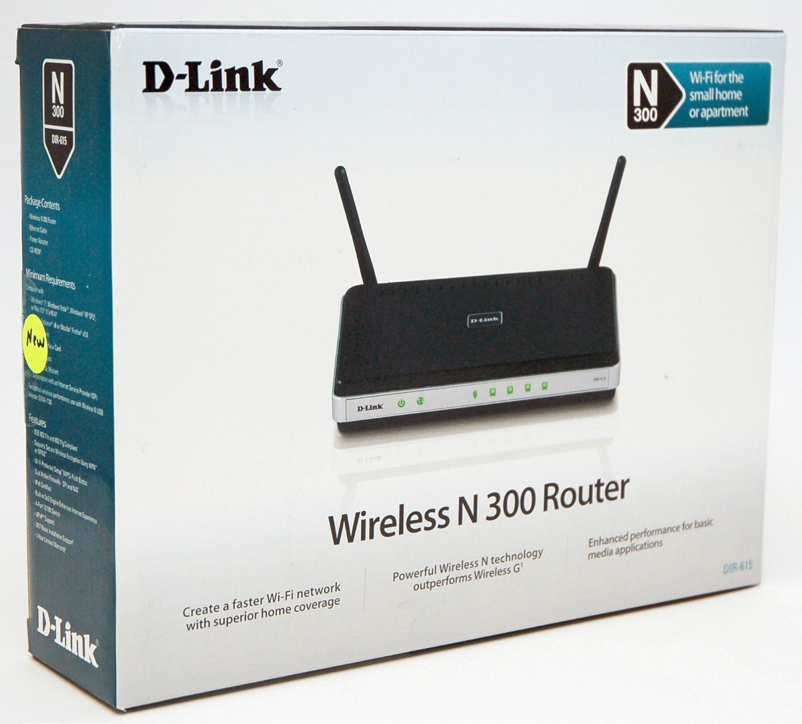 D Link Wireless N 300 Router Dir 615 Baba Computers