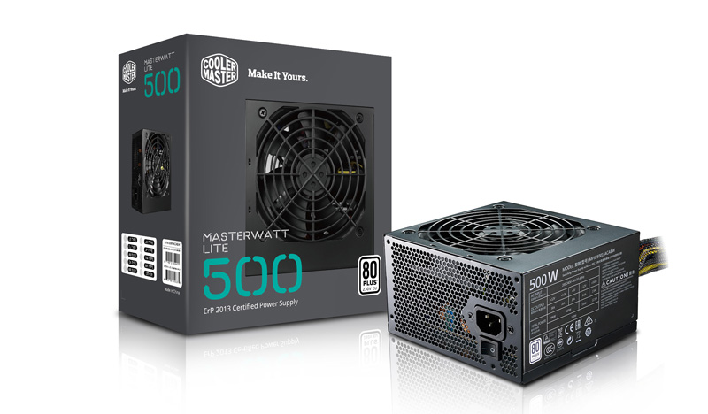 Cooler Master Watt Lite 500(SMPS) - Baba Computers